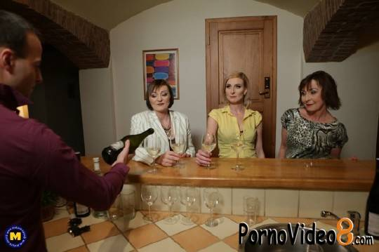 Mature.nl: Danny 63, Jara C. 38, Kaylea 35 - This Bartender gets a special tip from these three naughty mature ladies (FullHD/1080p/2.25 GB)