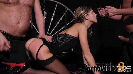 DDFNetwork: Gina - Submitting to Double Penetration (SD/360p/256 MB)