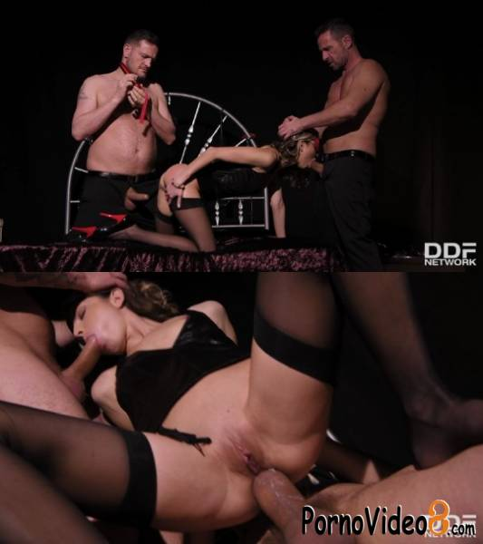 DDFNetwork: Gina - Submitting To Double Penetration (SD/480p/214 MB)
