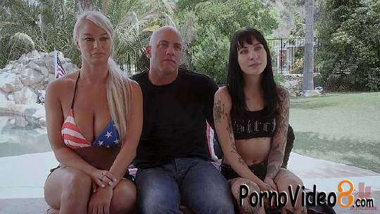 FamiliesTied: London River, Charlotte - Ungrateful Goth Teen Fucked Into Line By Step-Parents (HD/720p/2.67 GB)