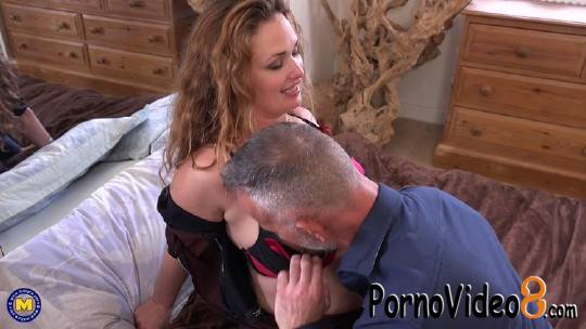 Mature.nl: Carina (EU) (36) - Hairy red MILF Carina has a very special love for hard cocks (FullHD/1080p/2.37 GB)