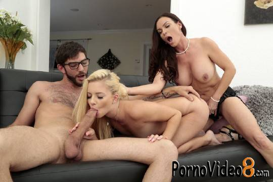 MomsBangTeens: Diamond Foxx, Riley Star, Logan Long - Date Night (HD/720p/862 MB)