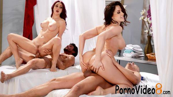 BrazzersExxtra, Brazzers: Lisa Ann, Ryan Smiles, Monique Alexander, Cali Carter, Chanel Preston - Best Of Brazzers Massage Mania  (SD/480p/776 MB)