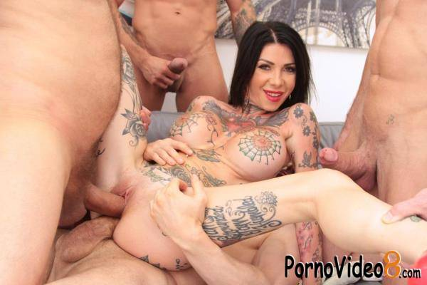 LegalPorno: Megan Inky - Megan Inky endures hard anal fuckign with 8 DAP positions SZ2468 (HD/720p/2.08 GB)