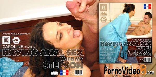 Mature.nl: Caroline (45) - Mature Caroline Wants Anal Sex In The Bathroom With Her Stepson (FullHD/1080p/1.68 GB)