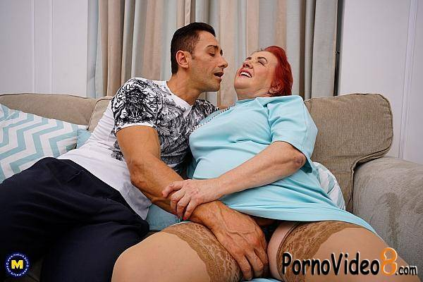 Mature.nl, Mature: Vabank Sterk (64) - Curvy granny having kinky sex with a muscled stud (FullHD/1080p/1.75 GB)