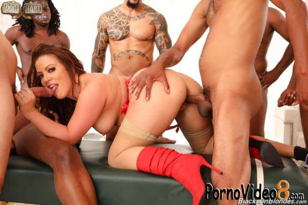BlacksOnBlondes, DogFartNetwork: Carmen Valentina - Blacks On Blondes (FullHD/1080p/3.52 GB)